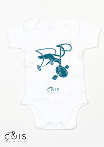 Cycling Baby Bodysuit