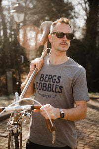 Bergs Cobbles Repeat Cycling T-Shirt