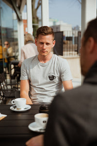 But First Coffee cycling T-shirt