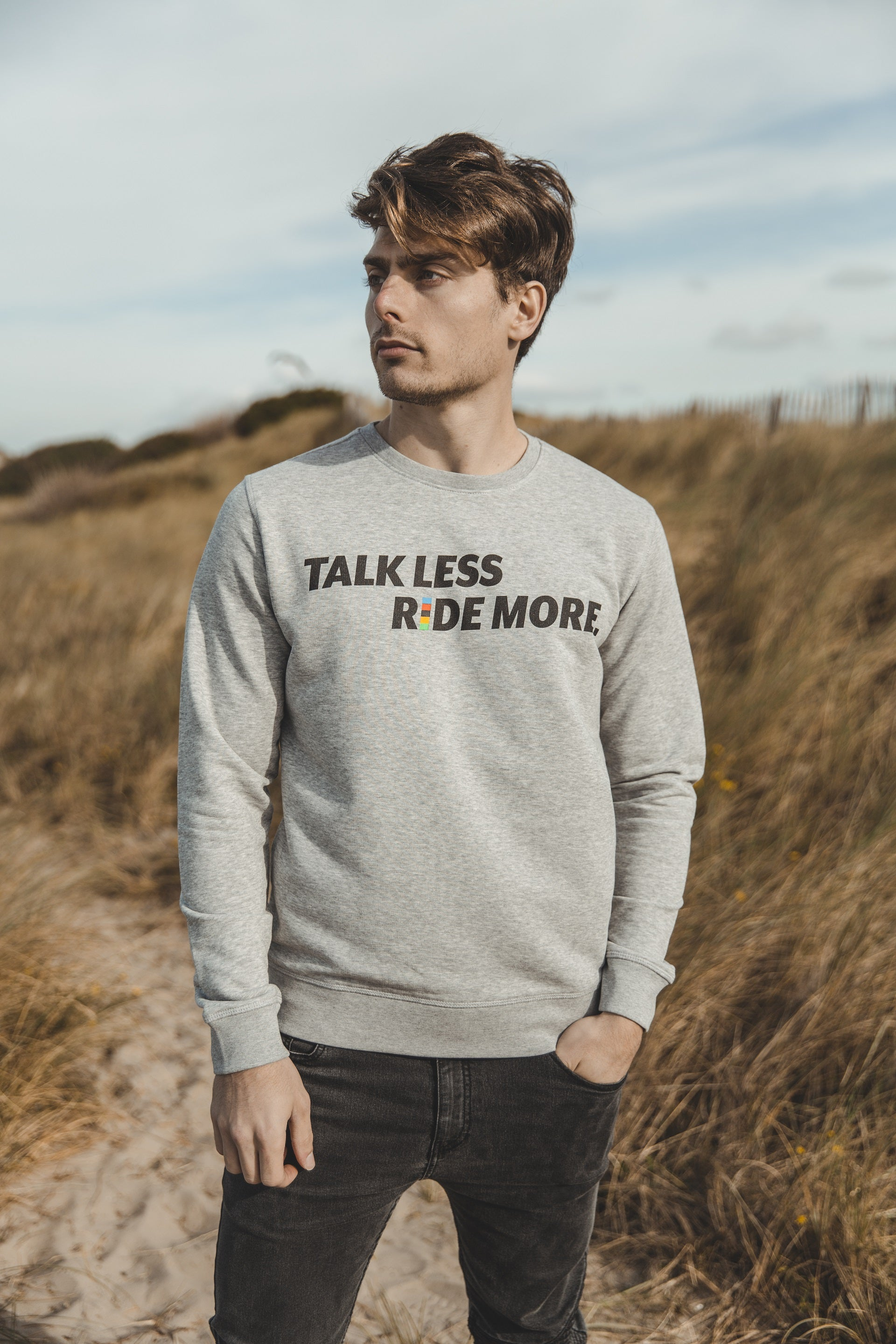 TALK LESS RIDE MORE Cycling Sweater
