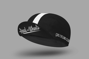 Head over Wheels Cycling Cap (black)