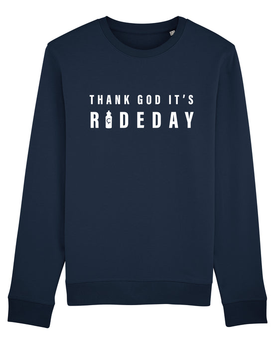 Thank God It's Rideday Cycling Sweater