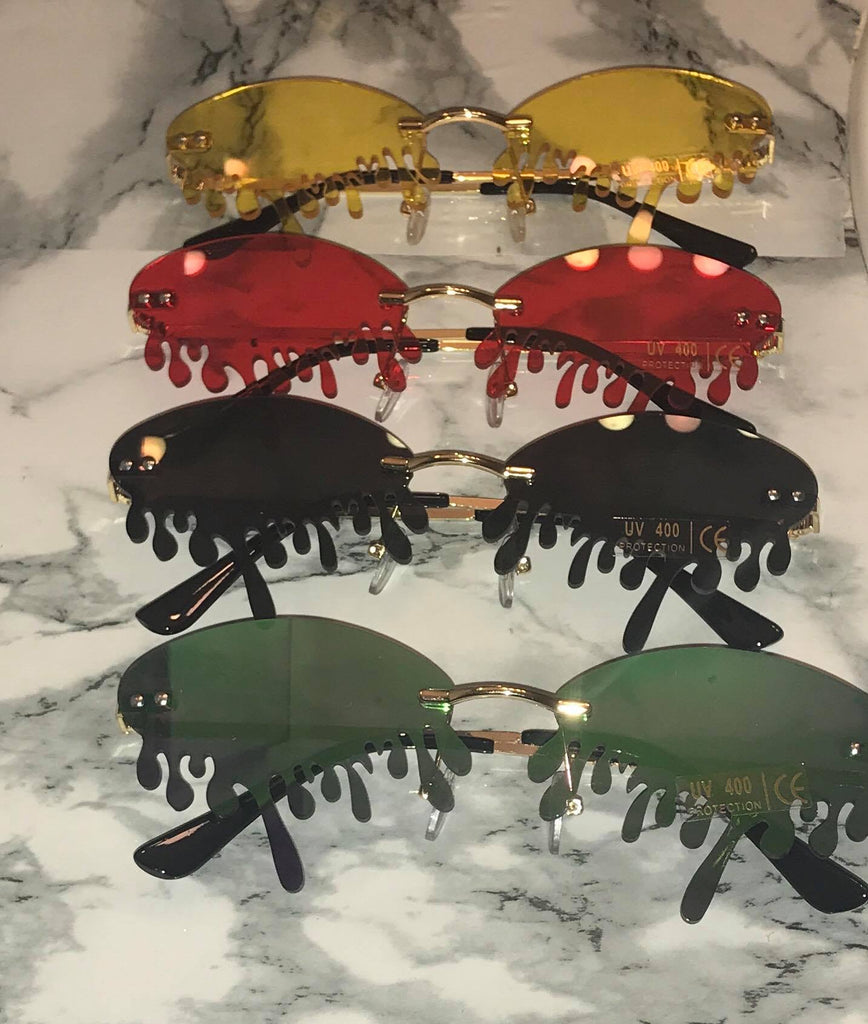 tears drip sunglasses
