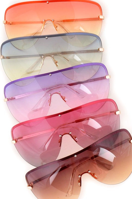 oversized ombre shades