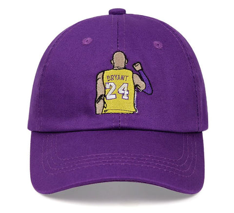 embroidered kobe bryant dat hat