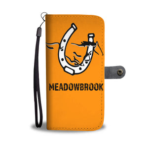 Meadowbrook colts - Wallet Phone Case