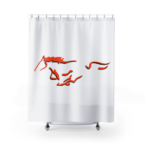 Meadowbrook Colts Shower Curtain
