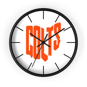 Colts Playoff Wall clock