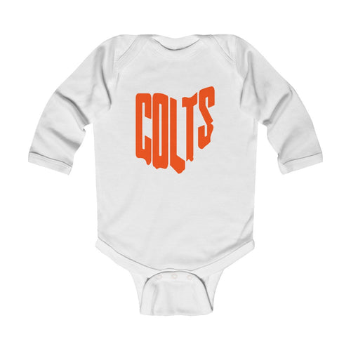 Meadowbrook Colts- Infant Long Sleeve Bodysuit