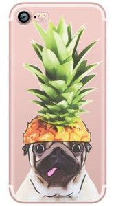 Pineapple Pug IPhone Case