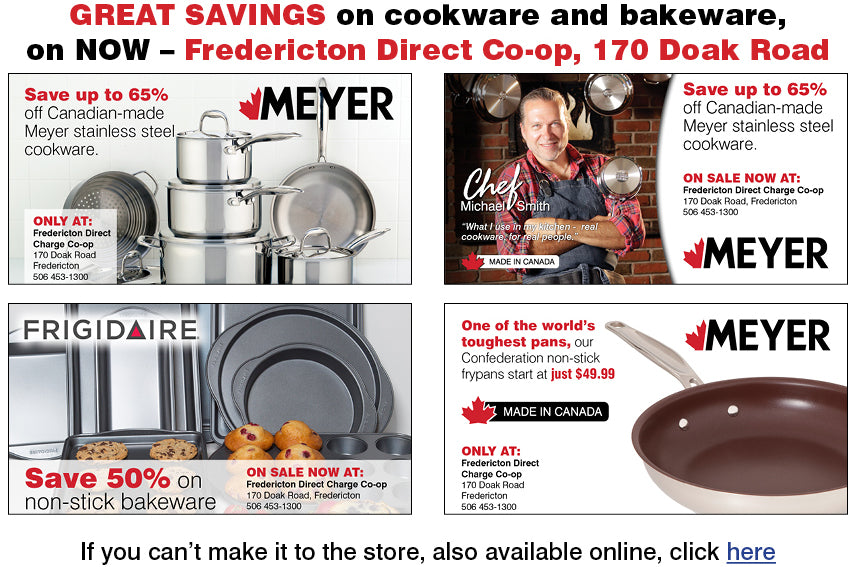 Great Savings on cookware