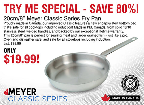 20cm / 8in Meyer Classic Series Fry Pan