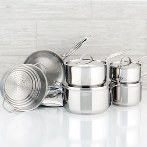 11 piece Meyer Confederation cookware set