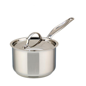 2L Meyer Confederation saucepan with lid
