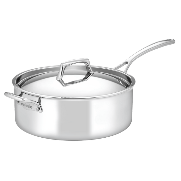 Essteele Per Sempre 6.6L Deep Covered Saute Pan w/helper handle and cover