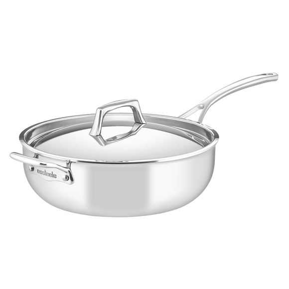 Essteele Per Sempre 4.7L Chef's Pan w/helper handle and cover