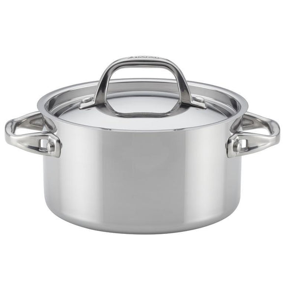 Anolon Tri-Ply Clad 3.5Qt Covered Saucepot