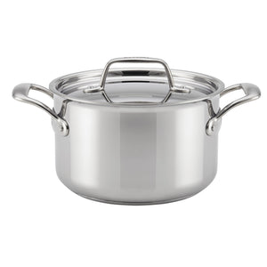 Breville® Thermal Pro™ Clad Stainless Steel 4Qt Saucepot