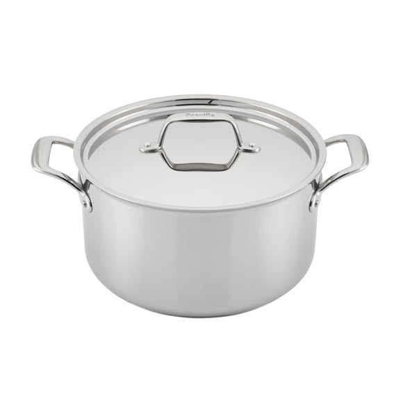 Breville® Thermal Pro™ Clad Stainless Steel 8 Qt Stock Pot