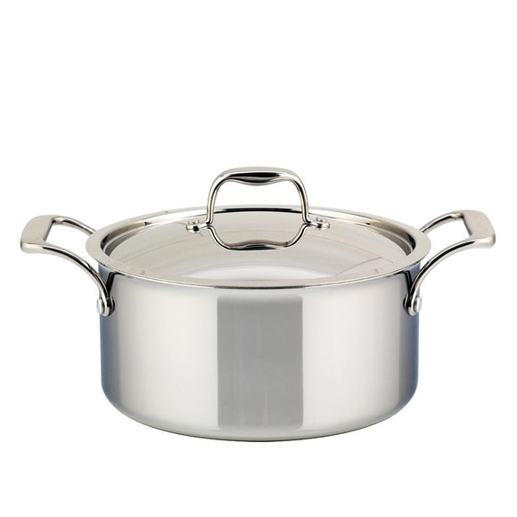 5L Meyer SuperSteel Tri-ply Clad Dutch Oven with Lid