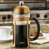 Bonjour 8 Cup French Press Copper