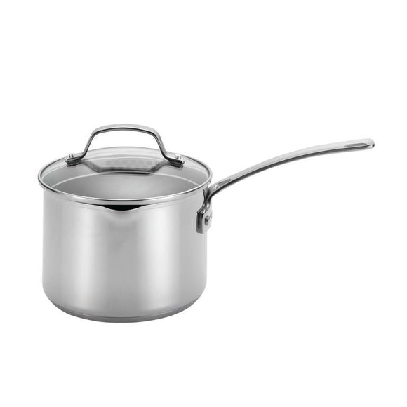 Circulon Genesis NonStick 3Qt Covered Straining Saucepan