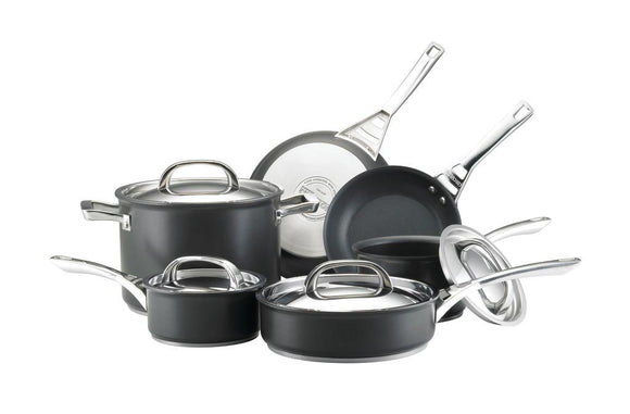 Infinite Circulon Hard Anodized NonStick 10pc Cookware Set