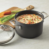 Anolon Authority Hard Anodized  4 Qt Covered Saucepot