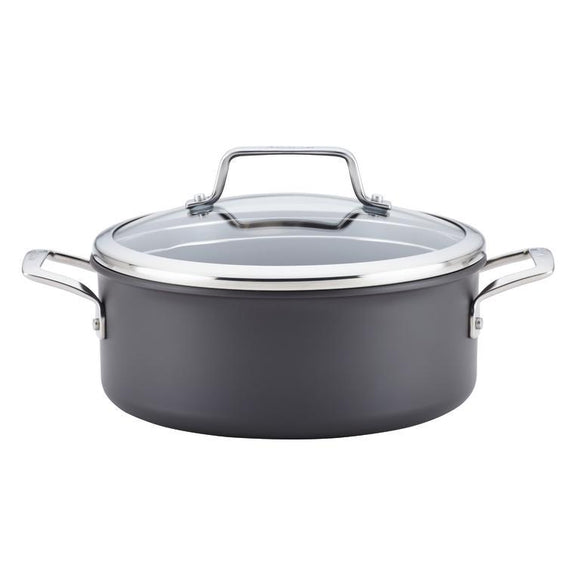 Anolon Authority Hard Anodized 5Qt Covered Dutch Oven