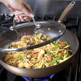 "Anolon Advanced Hard Anodized 12"" Ultimate Pan"