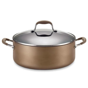 Anolon Advanced Bronze 7.5Qt Covered Non-Stick Stockpot