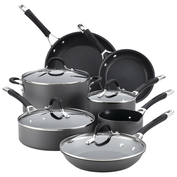 Circulon Momentum 11pc Hard Anodized Cookware Set
