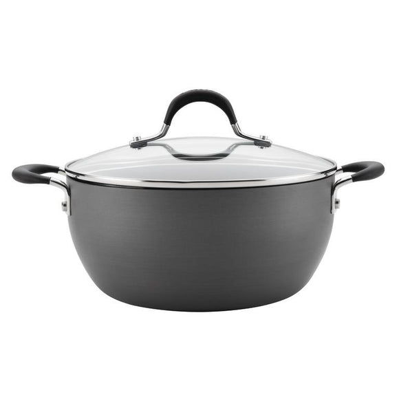 Circulon Momentum Hard Anodized NonStick 4.5Qt Covered Casserole