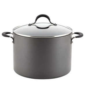 Circulon Momentum Hard Anodized NonStick 10Qt Covered Stockpot