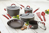 Rachael Ray 12pc Cookware Set - Cranberry Red 87630