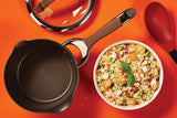 Circulon Symmetry NonStick 3.5Qt Covered Straining Saucepan