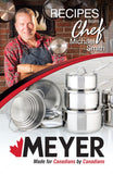 10pc Meyer Chef Michael Smith Cookware Set (with bonus mini recipe book)