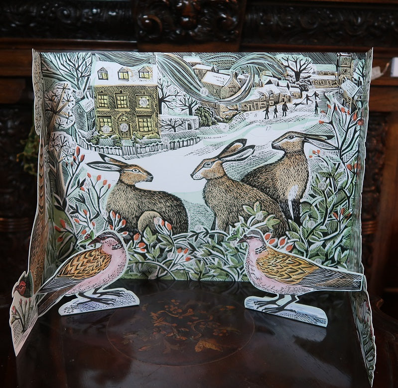 Three Hares Advent Calendar
