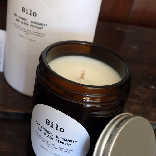 Bilo Candle- May Chang, Bergamot and Black Pepper