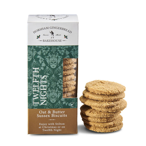 Twelfth Nights Gluten Free Oat & Butter Biscuits