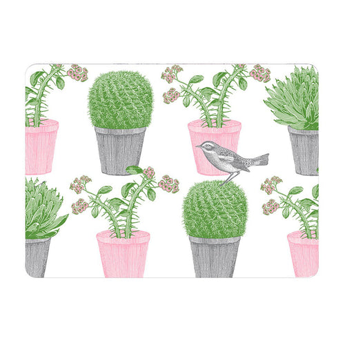 Cactus and Bird Pot Stand