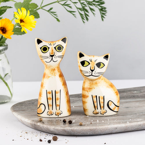 Hannah Turner Cat Salt and Pepper Shakers