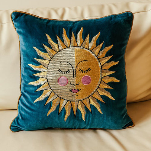 Golden Sun Cushion