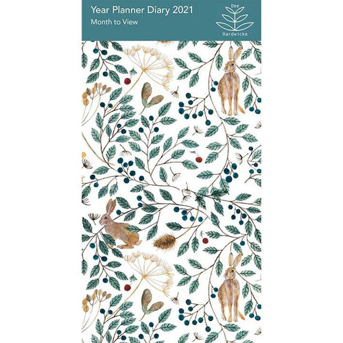 Hares and Berries 2021 Year Planner