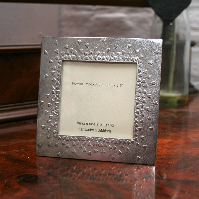 Pewter Heart Frame