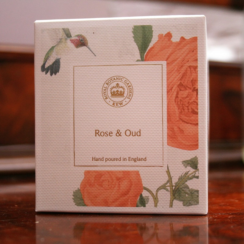 Rose and Oud Soy Candle