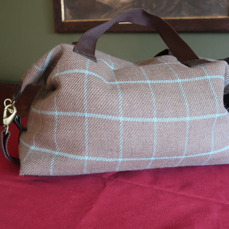 Tweed Weekend Bag