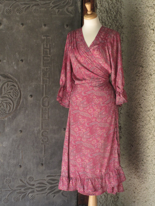 Gabrielle Parker Bonita Long Wrap Dress