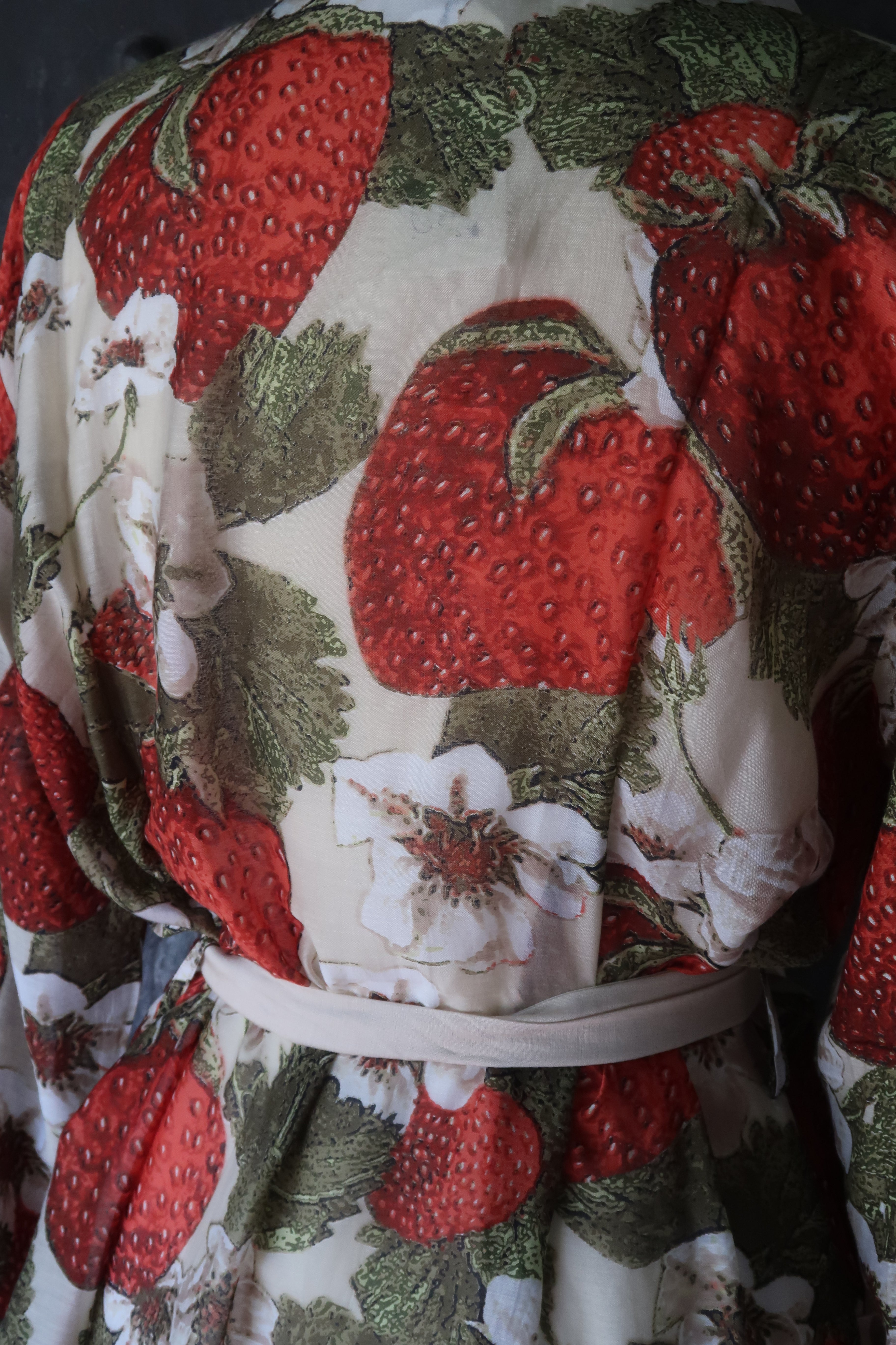 Strawberry Dressing Gown