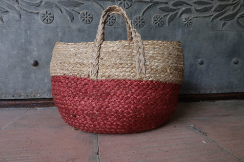 Zen Ethic Red Round Bag